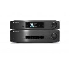 Hi-Fi стерео комплект Cambridge CXA80 и CXN (усилитель и сетевой плеер)